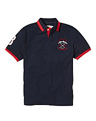 Jacamo Crest Polo Long