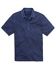Label J Polka Dot Polo Long