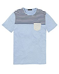 Label J Fleck T-Shirt Long