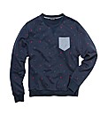 Label J Crew Neck Sweatshirt Long