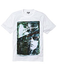 Label J Music Collage T-Shirt Long