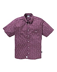 Addict Short Sleeve Print Shirt