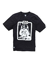 Amplified Darth Vader Print Tee