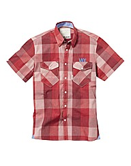 Voi Cortez Short Sleeve Check Shirt Reg