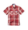 Voi Cortez Short Sleeve Check Shirt Long