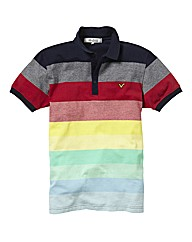 Voi Stripe Polo Long