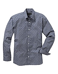 Black Label Printed Shirt Long