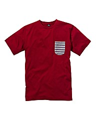 Label J Aztec Pocket T-Shirt Long