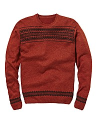 Label J Aztec Jumper
