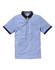 Label J Cord Collar Polo Regular