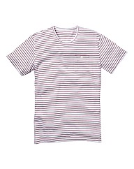 Label J Pinstripe T-Shirt Long
