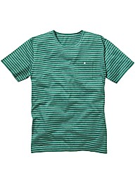 Label J Pinstripe T-Shirt Regular