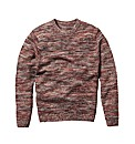 Label J Crew Neck Marl Jumper