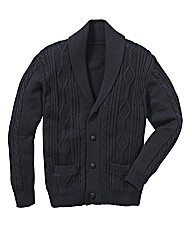 Jacamo Shawl Collar Cardigan
