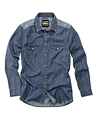 Joe Browns Outlaw Denim Shirt Reg