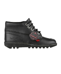 Kickers Kick Hi Junior Leather Boot