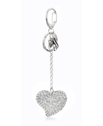 Malissa J Porto Heart Shaped Keyring