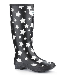 Splash Miss Starry Eyed Wide Calf Welly