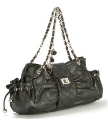 Lili Bou Charm Shoulder Bag