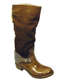 Petal Dolls Brown Riding Boots