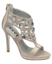 Ravel Glitz Jewelled Platform