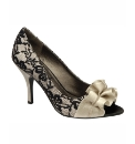 Ravel Georgette Peep Toe Court