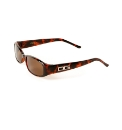 DG Designer Small Tort Smoke Sunglasses