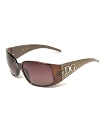 DG Designer Brown Gold Smoke Sunglasses
