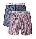 Ben Sherman Pack of 2 Woven Boxer Shorts