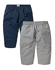 JCM Sports Pack of 2 3/4 Pants