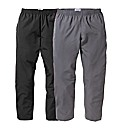 JCM Sports Pack of 2 Pants 29 inches
