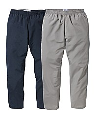 JCM Sports Pack of 2 Pants 31 inches
