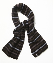 Animal Stripe Scarf
