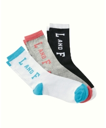 Loyalty & Faith Pack of 3 Socks