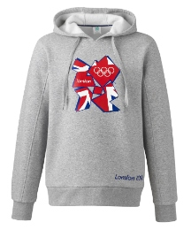 London 2012 Union Jack Hoody