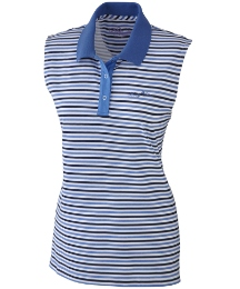 Body Star Nautical Sleeveless Polo