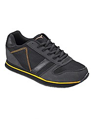 JCM Fitness Mens Mesh Trainers Wide