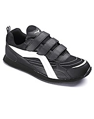 JCM Fitness Mens Velcro Trainers Wide