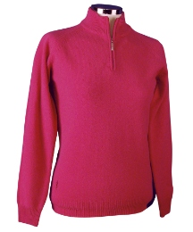 Glenmuir Patsy Zip Neck Sweater