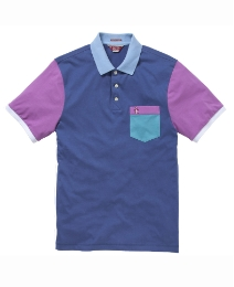 Penguin Colour Block Polo Shirt