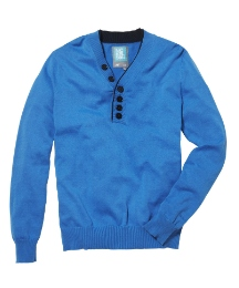 Nickelson Button Neck Jumper