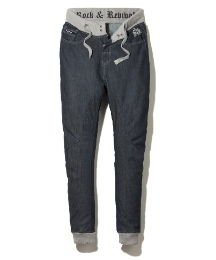 Rock & Revival Cuffed Mens Jeans