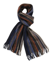 Ben Sherman Navy Stripe Scarf