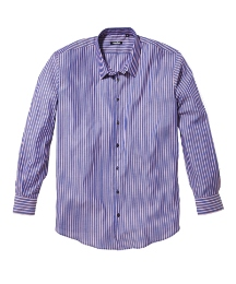 Rogers & Son Blue/Red Stripe Shirt Reg
