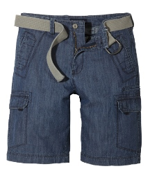 Jacamo Mens Denim Shorts