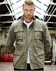 Flintoff by Jacamo Military Jacket
