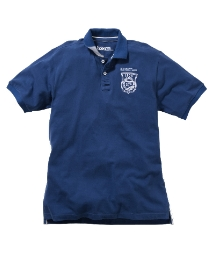 Jacamo Embroidered Badge Polo Shirt Long