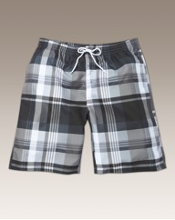 Jacamo Check Swim Shorts
