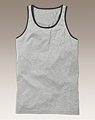 Jacamo Vest Top Regular Length