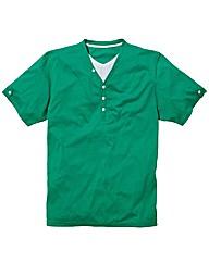 Jacamo Basic Layered T-Shirt Long